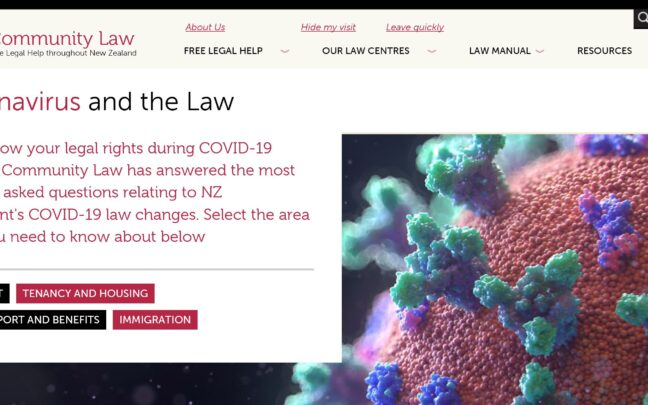 COVID-19 and the Law digital resource