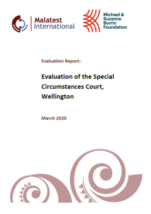 Report: Evaluation of the Special Circumstances Court