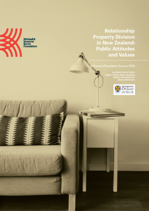 Report: Relationship Property Division in New Zealand: Public Attitudes and Values