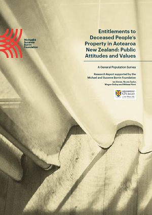 Report: Entitlements to Deceased People's Property in Aotearoa New Zealand