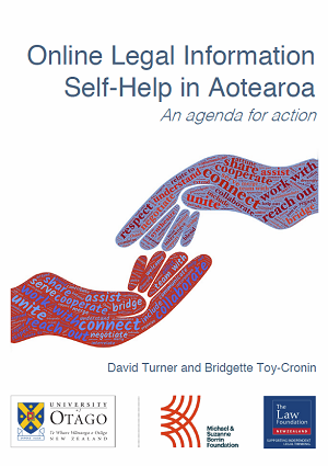 Report: Online Legal Information Self-Help in Aotearoa: An agenda for action